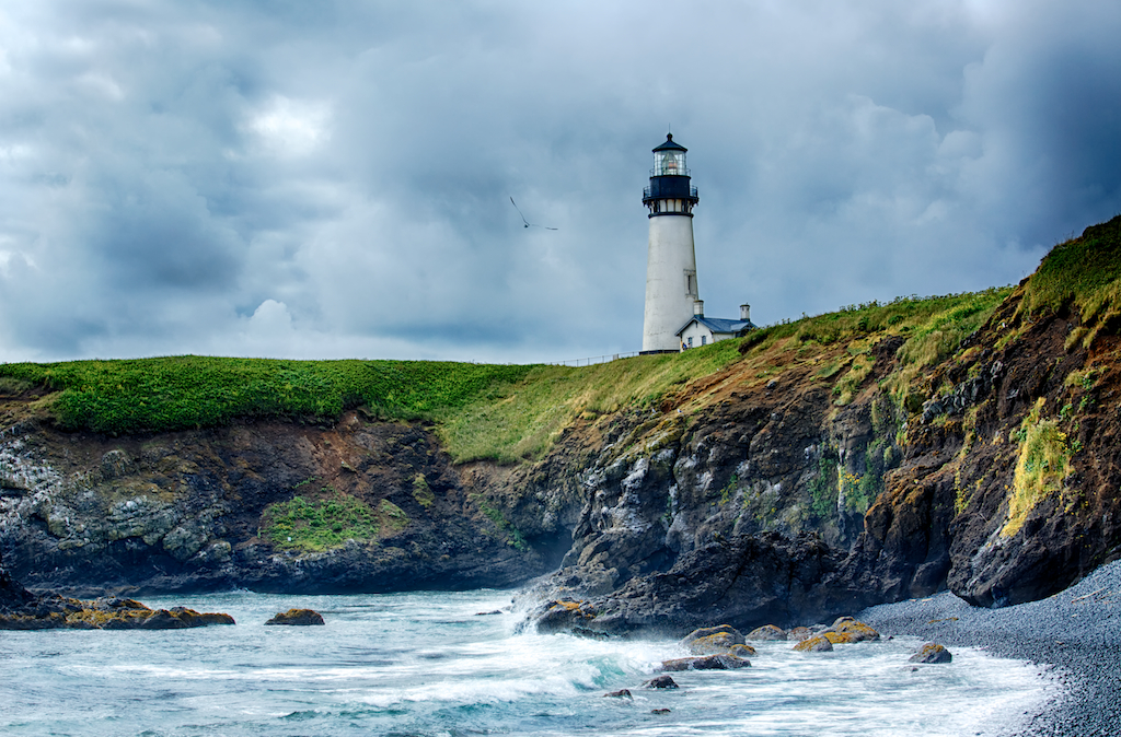 Oregon Coast- Yaquina Head Historic Lighthouse
