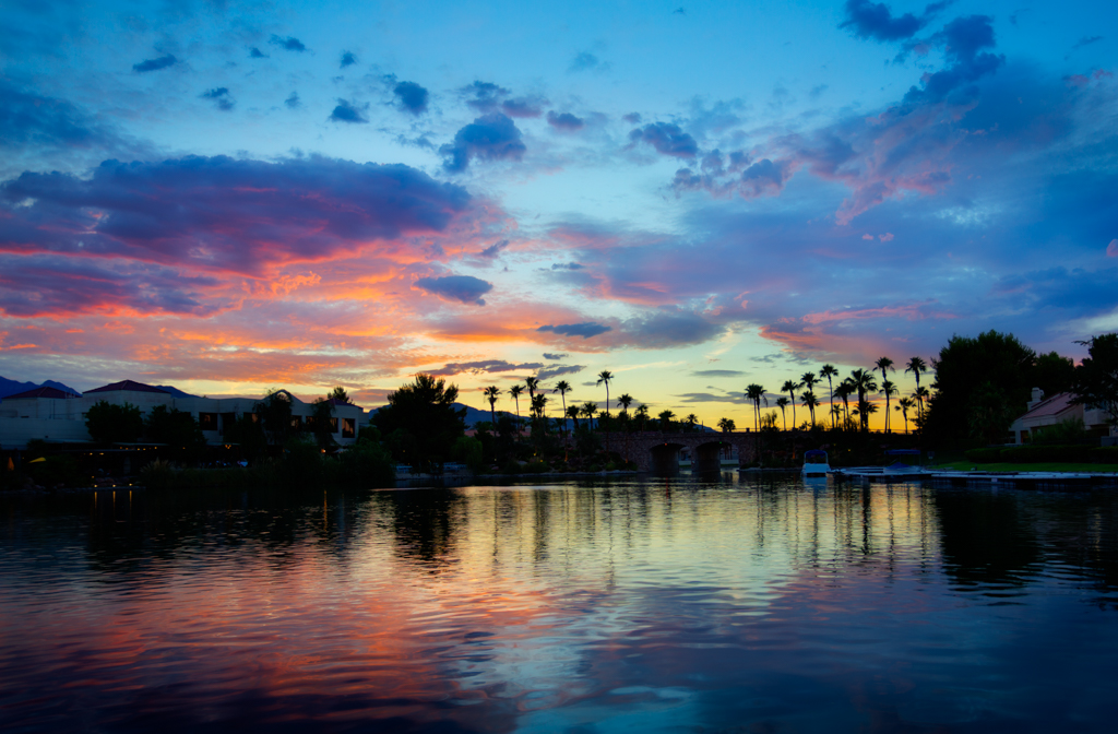 Las Vegas Sunset July 3, 2015